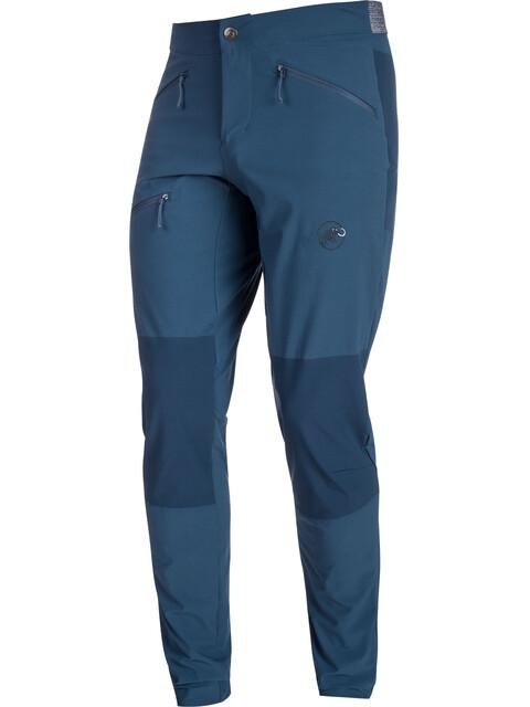 Mammut Pordoi - Pantalon Homme - regular bleu
